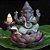 Incensário Cascata Ganesha Baby Verde - Imagem 1