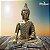 Big Buda Bhumisparsha Mudra Gold - Imagem 1