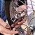 CADEADO Com ALARME SONORO 110db Anti-furto De Trava Para Portão MOTO Bicicleta BIKE - Haste Menor - Imagem 2