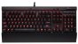 Teclado Corsair Gaming Mecânico K70 Lux Red Led Cherry MX Red - CH-9101020-BR - Imagem 1