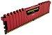 Memória Corsair Vengeance LPX 4GB 2400Mhz DDR4 Red - CMK4GX4M1A2400C14R - Imagem 4