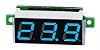 Mini Display Voltímetro Azul  0.28 Pol 2.5-30V - Imagem 1