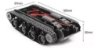 Chassi Robô Tipo Tanque Esteira Para Arduino - Imagem 2