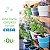 Conjunto Horta em Casa Vasos M Autoirrigáveis Com Suporte - Linha Plantar Ou - Imagem 1