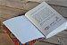 Caderneta de bolso de luxo em couro sintético branca - POLIANA LOPES - Imagem 1