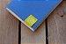 Caderneta de bolso de luxo em couro sintético azul clara - POLIANA LOPES - Imagem 7
