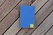 Caderneta de bolso de luxo em couro sintético azul clara - POLIANA LOPES - Imagem 5