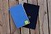 Caderneta de bolso de luxo em couro sintético azul clara - POLIANA LOPES - Imagem 3