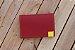 Caderneta de bolso de luxo em couro sintético cereja - POLIANA LOPES - Imagem 3
