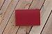 Caderneta de bolso de luxo em couro sintético cereja - POLIANA LOPES - Imagem 4