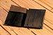 Carteira Bodoque preta feita a mão - Imagem 2