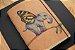 Caderneta pintada a mão (aquarela) - Daniel Rodrigues - Bodoque - Imagem 1