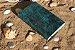 Coleção Sereias #1 caderno artesanal em couro formato A6 Bodoque - Imagem 4