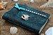 Coleção Sereias #2 caderno artesanal em couro formato A6 Bodoque - Imagem 2