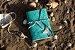Coleção Sereias #4 caderno artesanal em couro formato A6 Bodoque - Imagem 4