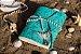 Coleção Sereias #4 caderno artesanal em couro formato A6 Bodoque - Imagem 2