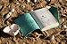 Coleção Sereias #4 caderno artesanal em couro formato A6 Bodoque - Imagem 3