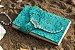 Coleção Sereias #5 caderno artesanal em couro formato A6 Bodoque - Imagem 5