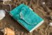 Coleção Sereias #5 caderno artesanal em couro formato A6 Bodoque - Imagem 3