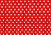 Papel Poá Vermelho-Branco 180g/m² A4 pacote com 25 folhas - Imagem 2