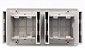 Caixa Elétrica 4 Blocos para Mesa com Tomadas e Carregador USB QTMov - Imagem 4