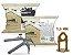 Kit Piso Porcelanato 600 Espaçadores + 100 Cunha + Alicate Nylon Eco - Imagem 1