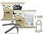 Kit Piso Porcelanato 600 Espaçadores + 100 Cunha + Alicate Nylon Eco - Imagem 3