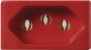 Kit espelho Completo Tendenza 3X + Tomada 20 A 3X + Módulo Cego 6X Pezzi - Imagem 3