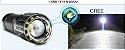 Lanterna Mão Multifuncional Bateria Energia Elétrica e Pilha Led Cree T6 - Imagem 3