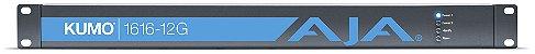 AJA KUMO 1616-12G Roteador compacto 16x16 12G-SDI - Imagem 1