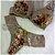 Conjunto Lingerie  com Estampa Floral em Renda - Imagem 3