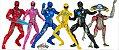 Power Rangers O Filme - (Pack Completo) 6 Bonecos - Imagem 1
