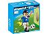 Playmobil 4712 - Jogador de Futebol - Italia - Imagem 1