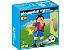 Playmobil 4730 - Jogador de Futebol - Espanha - Imagem 1