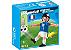 Playmobil 4733 - Jogador de Futebol - França - Imagem 1
