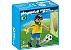 Playmobil 4799 - Jogador de Futebol - Brasil - Imagem 1