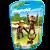 Playmobil 6650 - Saquinho Com Animais Do Zoo Pequenos - Imagem 1