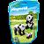 Playmobil 6652 - Saquinho Com Animais Do Zoo Pequenos - Imagem 1