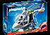 Playmobil 6921 - Helicóptero Da Polícia Com Luz - Imagem 1