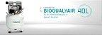 Compressor Odontológico para 1 Consultório BioQualyAir 40L Saevo - Imagem 2