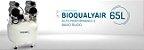 Compressor Odontológico 2 Consultórios BioQualyAir 65L Saevo - Imagem 2