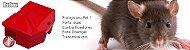 Porta iscas contra roedores Combat Rat Vermelho - Imagem 4