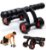 Rolo para Abdominais Multi-Functional Lightweight Portable Trainer Ab Roller and Push Up Bar Promo - Imagem 3