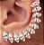 ROMMANEL 525387 EAR CUFF COM ZIRCÔNIAS GIOVANNA ANTONELLI - Imagem 2