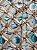 Tecido Jacquard náutico conchas cinza claro - Imagem 1