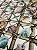 Tecido Jacquard náutico conchas bege - Imagem 4