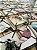 Tecido Jacquard náutico conchas bege - Imagem 2