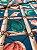 Tecido Jacquard náutico conchas azul - Imagem 3