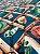Tecido Jacquard náutico conchas azul - Imagem 2