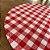 Sousplat Gorgurinho xadrez vermelho branco - Imagem 3